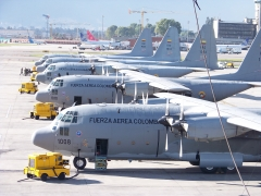 C-130 CATAM COLOMBIAN AIR FORCE