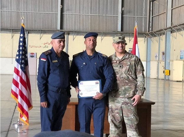 C-130 News: Iraqi Air Force graduates first craftsman maintenance technicians