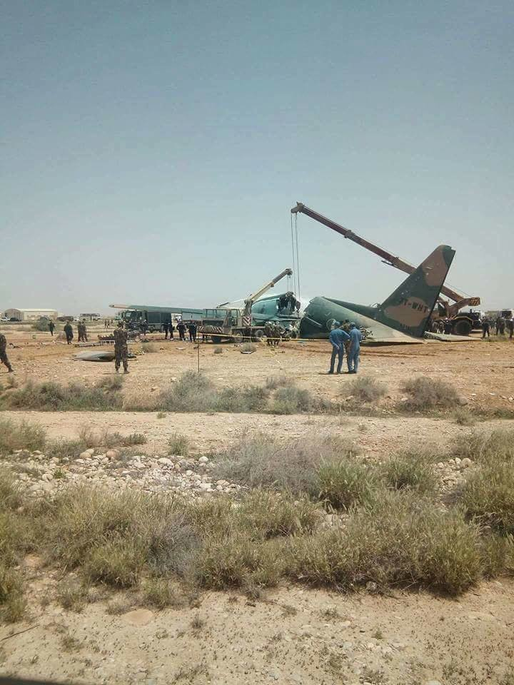 8 injured in Algeria as military plane overshoots the runway