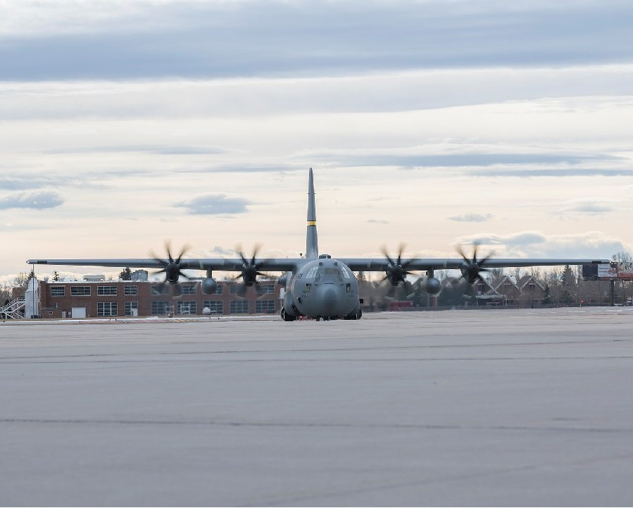 C-130 News: First of its kind upgraded C-130H returns to Wyo. Air Guard